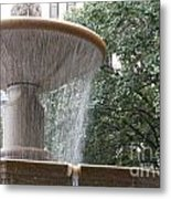 Fountain Of Yewts Metal Print