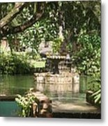 Fountain Of Youth Metal Print