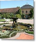 Fountain - Orangery - Belvedere Metal Print