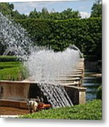 Fountains Metal Print