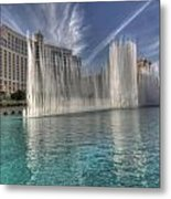 Fountains Of Paradise Metal Print
