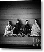 Four Dollies Metal Print
