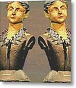 Four Mannequins Two Metal Print