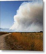 Four Mile Canyon Fire Colorado Metal Print