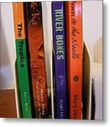 Four Of My Ten Books Published Metal Print