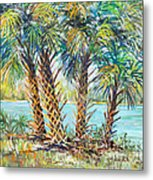 Four Palms Metal Print