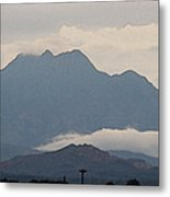 Four Peaks After A Storm Metal Print