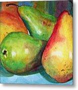 Four Pears Art Blenda Studio Metal Print