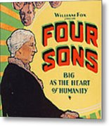 Four Sons, Us Poster Art, 1928. Tm & Metal Print