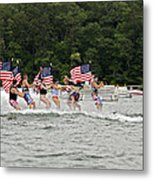 Fourth Of July On The Lake Metal Print