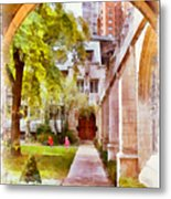 Fourth Presbyterian - A Chicago Sanctuary Metal Print by Christine Till