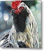 Fowl Martyr Metal Print