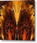 Fractal Abstract 15-01 Metal Print