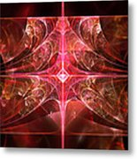 Fractal - Abstract - The Essecence Of Simplicity Metal Print