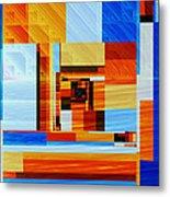 Fractal Abstract11 Metal Print