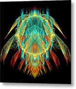 Fractal - Insect - I Found It In My Cereal Metal Print
