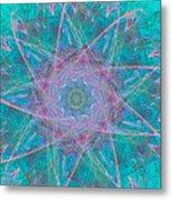 Fractal Magic Metal Print