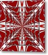 Fractal Reflections Metal Print
