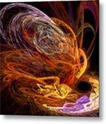 Fractal - Rise Of The Phoenix Metal Print
