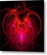 Fractal - Science - The Neural Network Metal Print