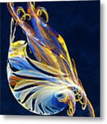 Fractal - Sea Creature Metal Print