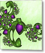 Fractal Tears Of Joy Metal Print