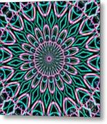 Fractalscope 21 Metal Print