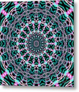 Fractalscope 22 Metal Print