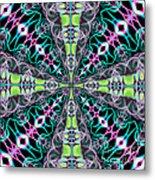 Fractalscope 24 Metal Print
