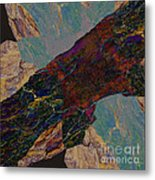 Fracture Section Il Metal Print