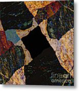 Fracture Section Vll Metal Print