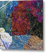 Fracture Section Xi Metal Print