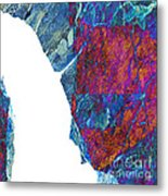 Fracture Section Xiii Metal Print