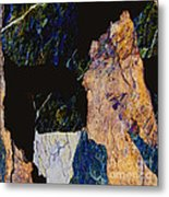 Fracture Section Xiv Metal Print