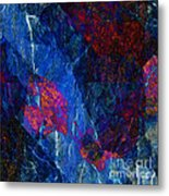 Fracture Section Xv Metal Print