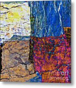 Fracture Section Xvii Metal Print