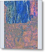 Fracture Section Xxlll Metal Print