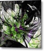 Fractured Bloom  Metal Print