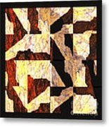 Fractured Overlay Il Metal Print