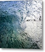 Fractured Tube. Metal Print by Sean Davey