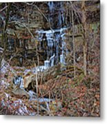 Fragility Of Ice Metal Print