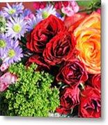 Fragrant Bouquet Metal Print by Paulette Maffucci