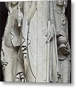 France. Autun. Cathedral Of St. Lazare Metal Print
