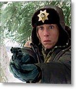 Frances Mcdormand As Marge Gunderson In The Film Fargo By Joel And Ethan Coen Metal Print