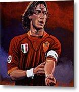 Francesco Totti Metal Print