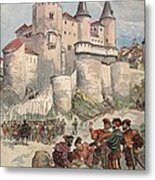 Francis I Held Prisoner In A Tower Metal Print