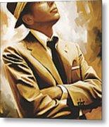 Frank Sinatra Artwork 1 Metal Print