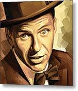 Frank Sinatra Artwork 2 Metal Print