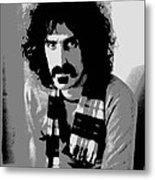 Frank Zappa - Chalk And Charcoal 2 Metal Print by Joann Vitali