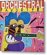 Frank Zappa Orchestral Favorites Metal Print